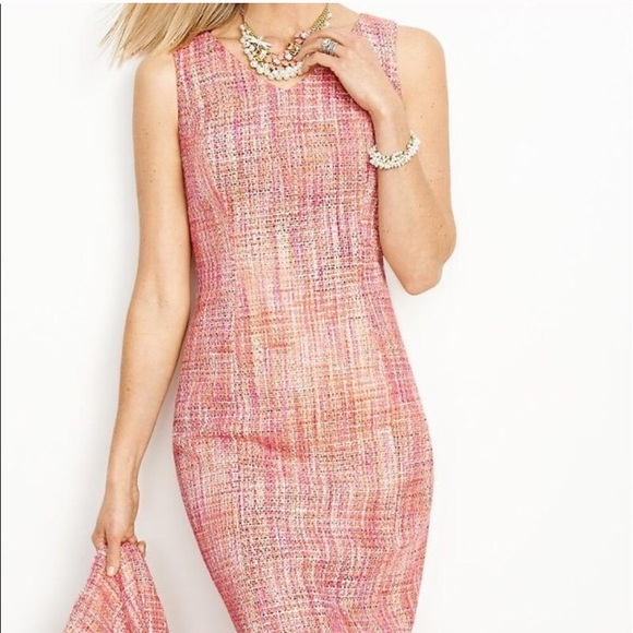 b7a7c7d7a5e Talbots Dresses | New Pink Tweed Sheath Dress Easter | Poshmark